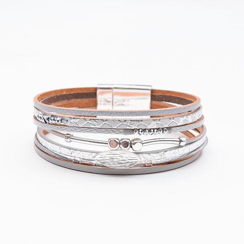 The Lille Leather Bracelet