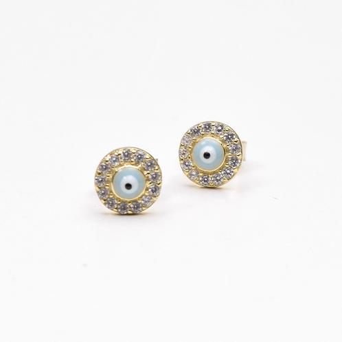The Mini Eye Earring, 925 Sterling Silver