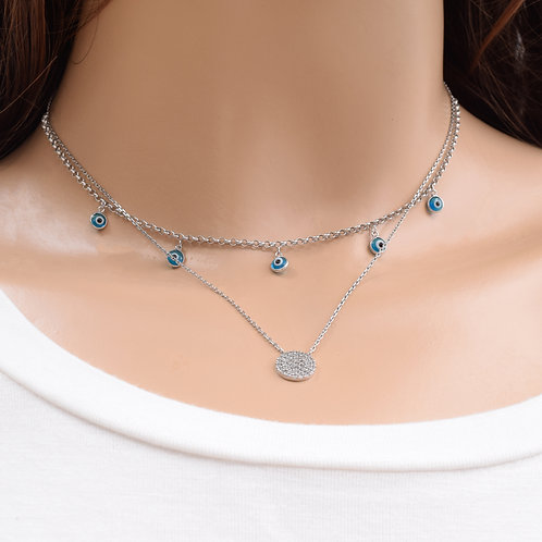 The Zoi Necklace, 925 Silver