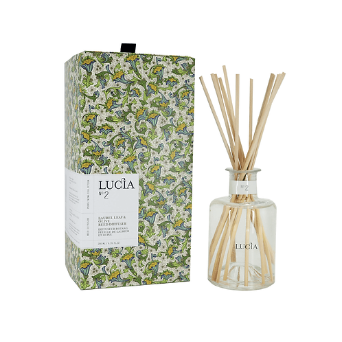 Lucia No.2 Diffuser Laurel Leaf & Olive