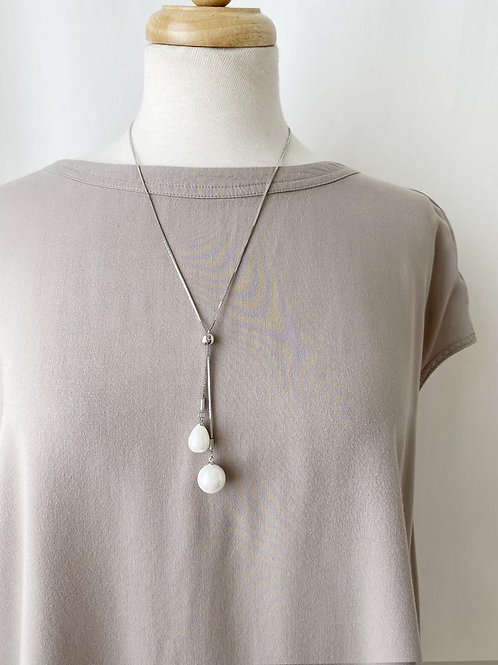 The Teardrop Pearls Necklace