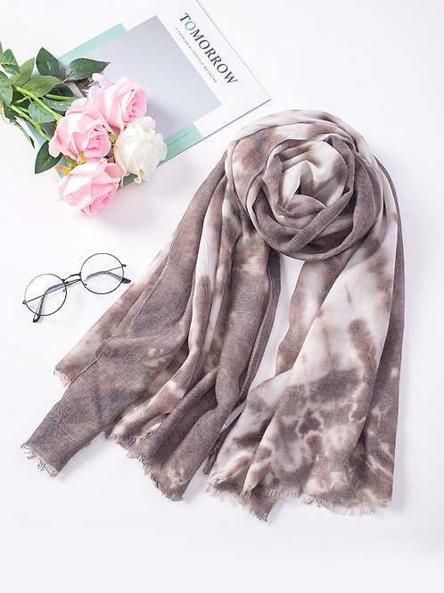 The Tianna Tie Dye, Brown