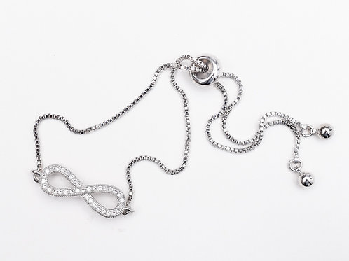 The Forever You Bracelet, Silver