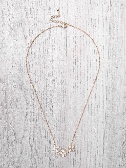 The Jessa Necklace, Gold