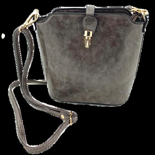 The Elizabeth Bag, Dark Grey