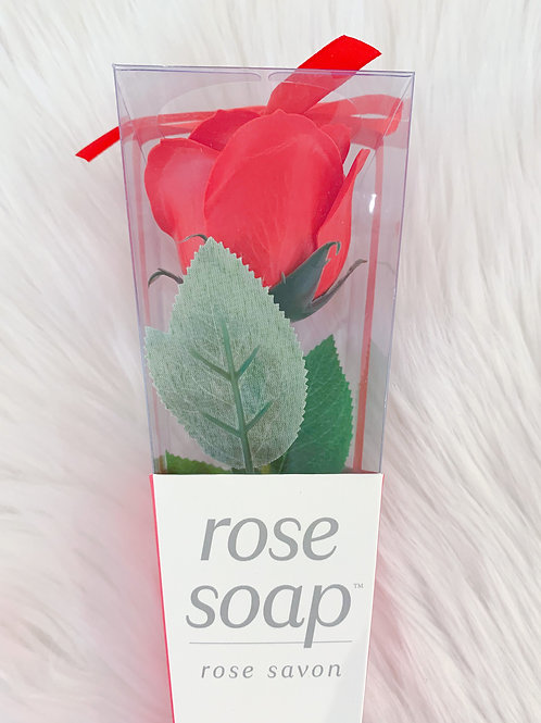 """Because I love you"" Rose Soap"