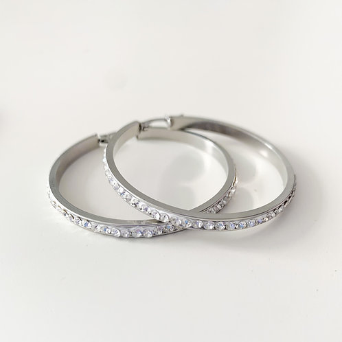 The Halo Hoops, Stainless Steel 45mm