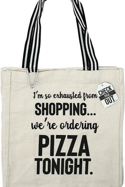 Pizza Tonight - 100% Cotton Twill Gift Bag