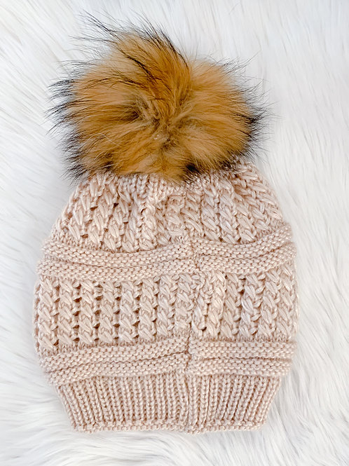 The Kinsley Toque, Blush