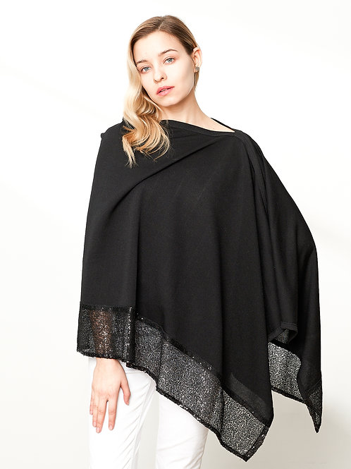 The Sequined Clara Poncho