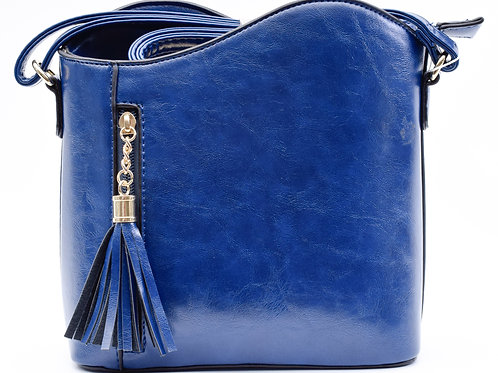 The Tiffany Tassel Handbag, Royal Blue