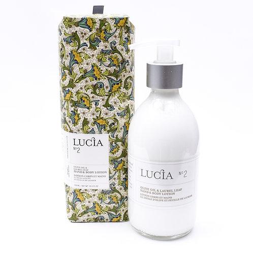 Lucia No.2 Laurel Leaf & Olive Lotion