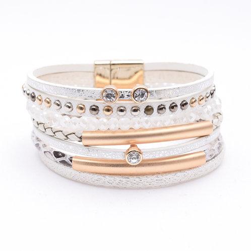 The Larissa Leather Bracelet