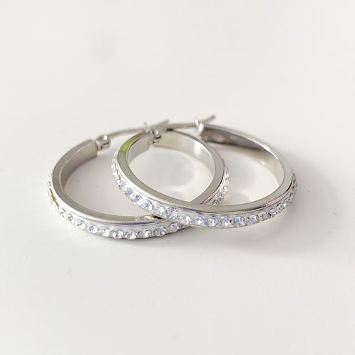 The Halo Hoops, Stainless Steel 30mm