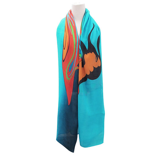 Maxine Noel Mother Earth Artist Scarf