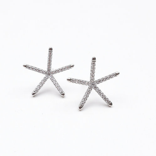 The Simplistic Starfish Earring