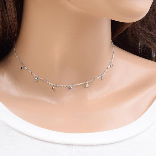 The Milena Necklace, 925 Silver