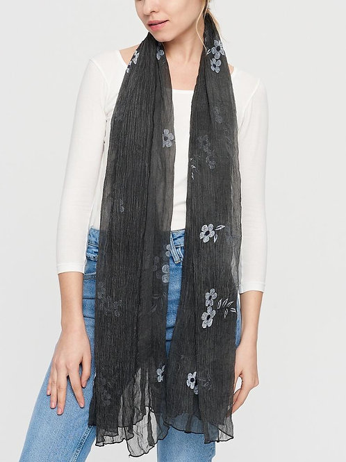 The Simple Flower Scarf