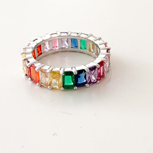 The Rainbow Ring, Silver