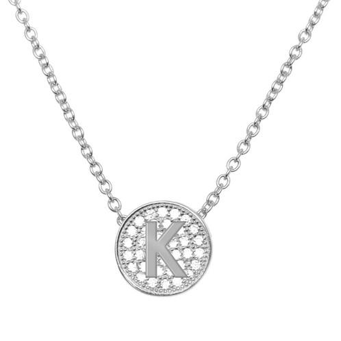 Initial k pendant sterling silver pretty thingz fashion initial k pendant sterling silver pretty thingz fashion jewellery unionville toronto oakville aloadofball Image collections