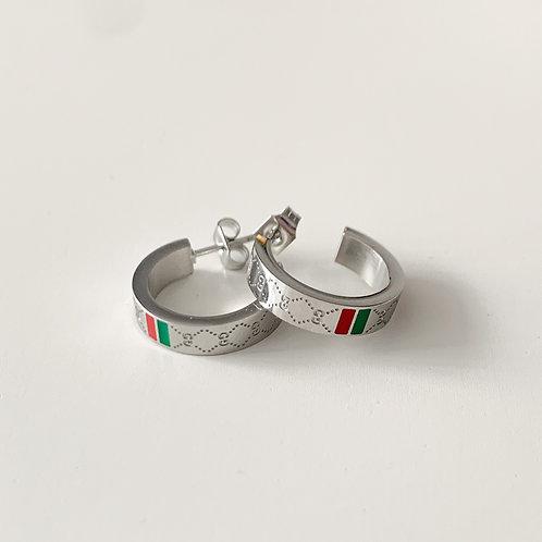 The Gigi Huggies, Stainless Steel, Silver