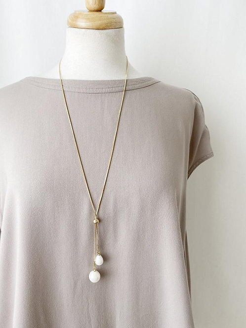The Teardrop Pearls Necklace,