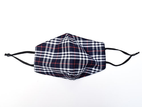 The Plaid Face Mask