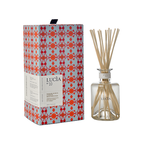 Lucia No.10 Diffuser Damask Rose & Cypress