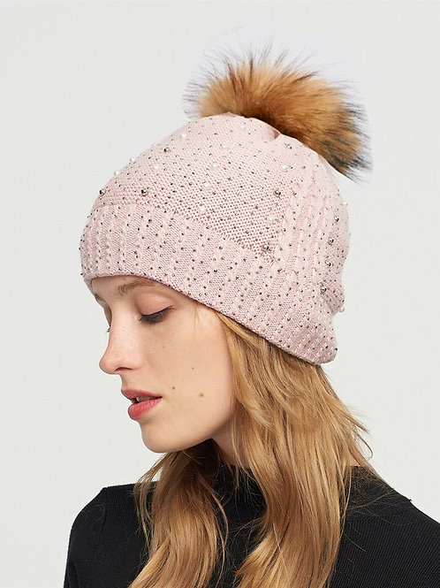 The Sparkle & Pearl Toque