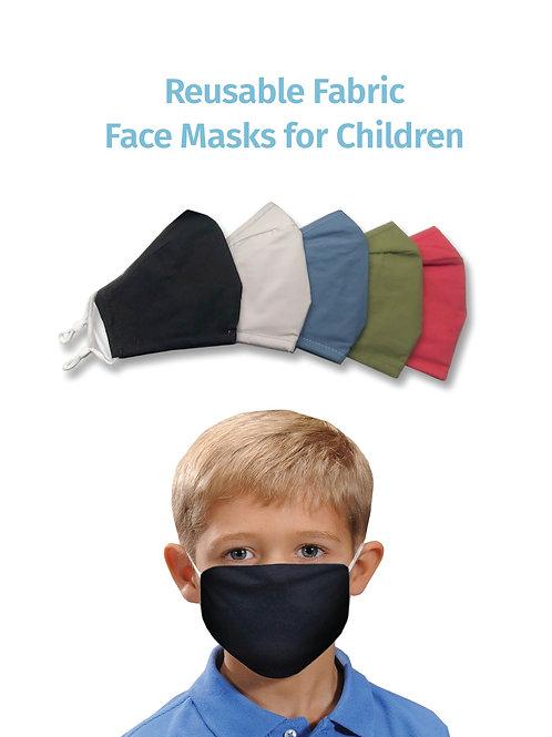 Kids Reusable Mask (5 colours)