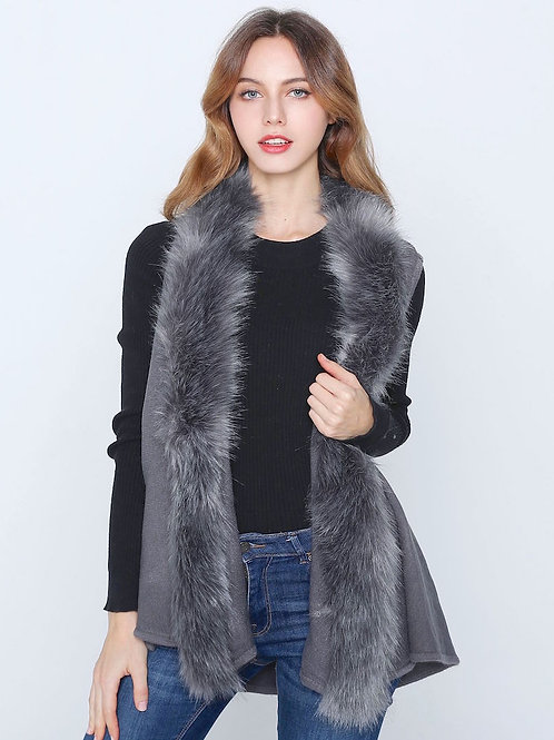 The Fiona Fur Vest