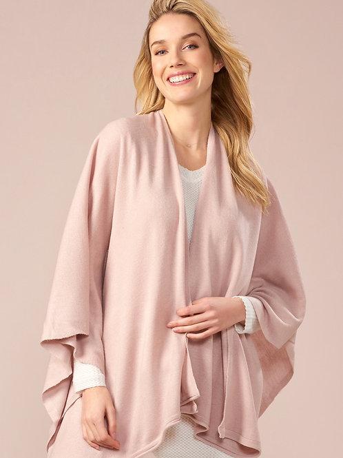Lightweight Blush Blanket Cape
