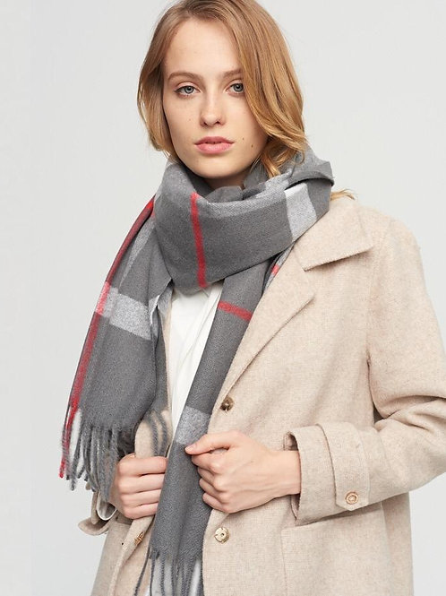 The Uptown  Scarf, Grey