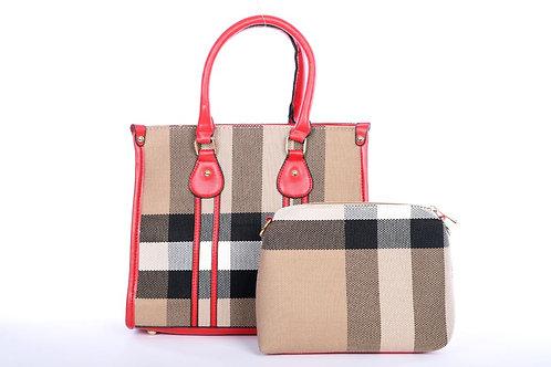 The Pretty in Plaid Handbag