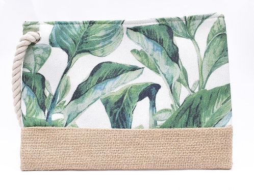 The Palm LeafMask/Cosmetic Pouch