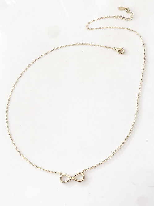 The Eternity 925 Necklace, Gold