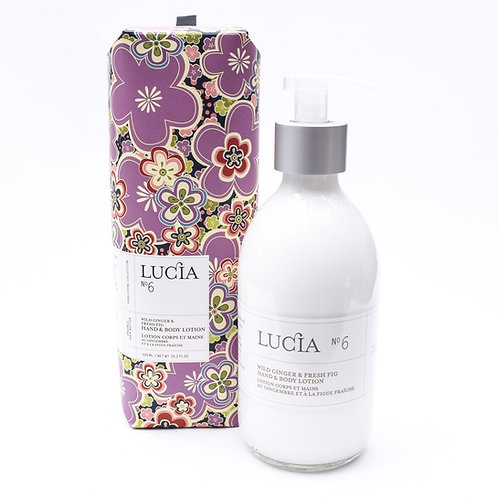 Lucia No.6 Fresh Fig & Wild Ginger Lotion