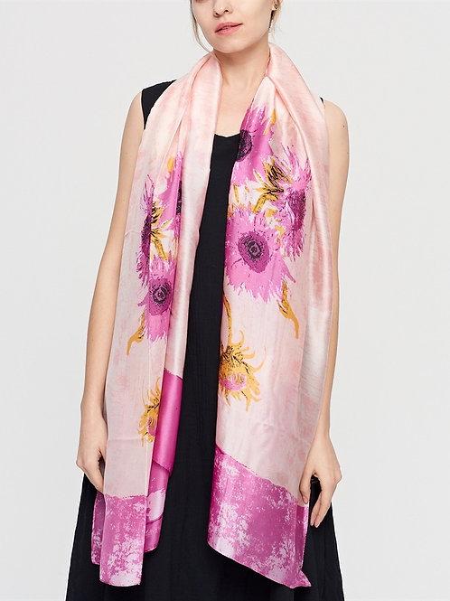 The Azalea Silk Scarf