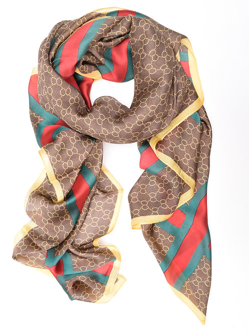 The Giselle Scarf, Brown