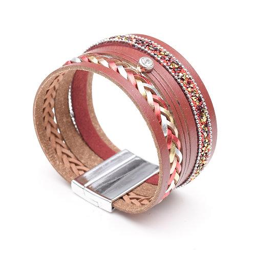 The Weaved Leather Bracelet