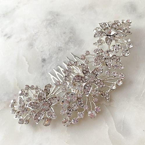 The Eva Hair Comb, Silver