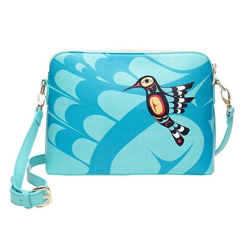 Francis Dick Hummingbird Art Bag