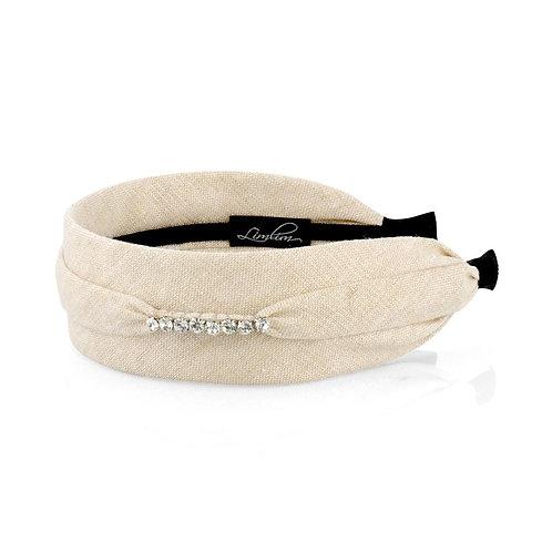 Linen Sparkle Headband