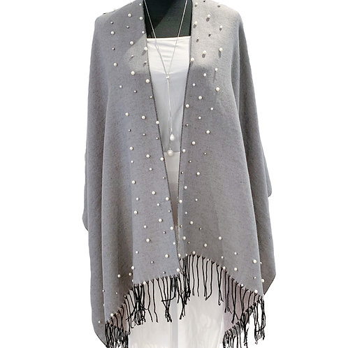 The Floating Pearl with Fringe Cape