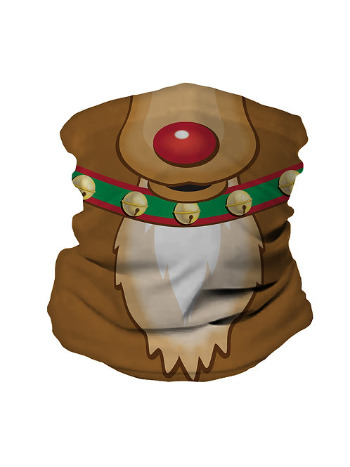 Snug Bandana, Reindeer Face