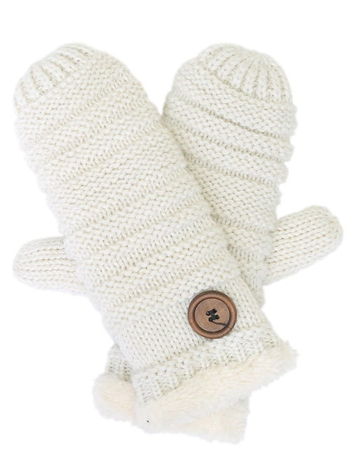 The White Button Mittens