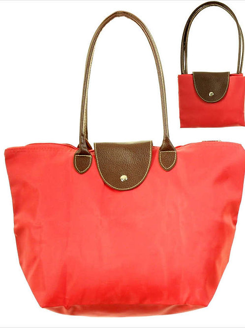 The Everyday Tote, Coral