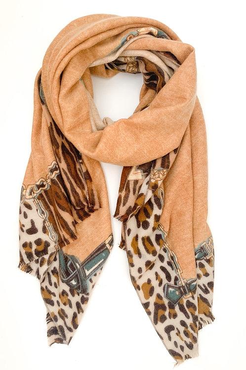 The Cheetah & Chains Shawl