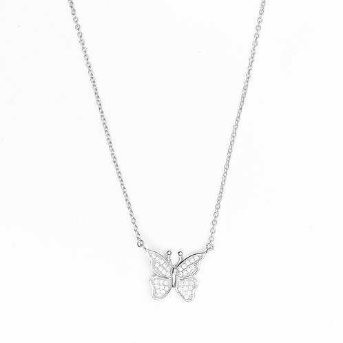 The Sparkling Butterfly Necklace