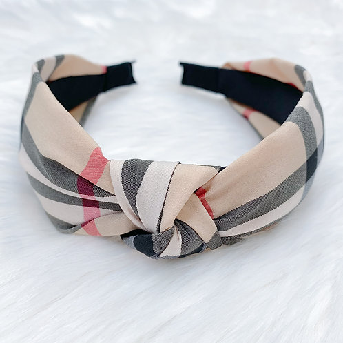 The Bonnie Luxury Headband, Beige